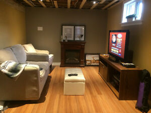 Furnished room for rent (monthly)