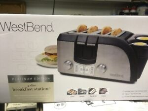 Eggs and Toast !  Westbend Breakfast Station Toaster