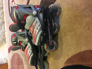 Like New Roller Blades range from size 12 to 2