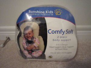 NEW Sunshine Kids Comfy Soft 2 piece body support Baby