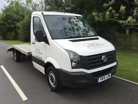 2015 VOLKSWAGEN CRAFTER TRANSPORTER /RECOVERY 1 COMPANY OWNER ONLY 20000 MILES
