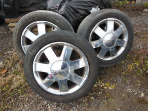 Ford Thunderbird 1998-2005 Rims and Tires