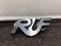 RARE porsche RUF badge