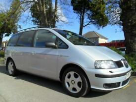 SEAT ALHAMBRA 1.9TDi 2001 7 SEATER COMPLETE WITH M.O.T HPI CLEAR INC WARRANTY
