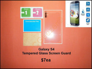 Galaxy.... Tempered Glass Screen Protectors