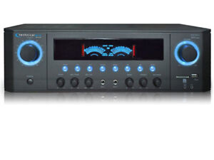 Technical Pro RX38UR Professional Receiver 1000 watts with USB+