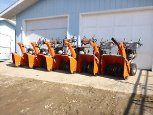 UNRESERVED AUCTION - UNUSED SNOW THROWERS