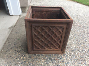 $25 Each Cast Iron Planters