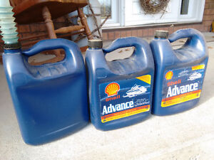 2 stroke snowmobile oil