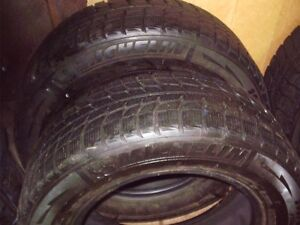 4x 205-65-15 MICHELIN  X-ICE hiver. winter tires,