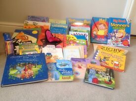 Books 0-5yrs, baby toys, buggy cover