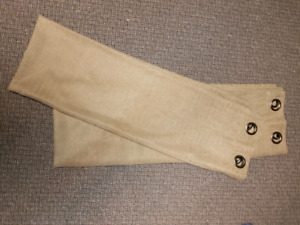 3 pairs of curtains with grommets. See all pics.