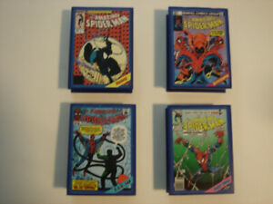Four Spider-man Pocket Comics Action 1994 Playsets