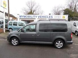 Volkswagen Caddy Maxi WINCH Wheelchair Scooter Accessible 5 Seat WAV