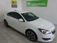 WHITE VAUXHALL INSIGNIA 1.6 LIMITED EDITION CDTI ECOFLEX **FROM £234 PER MONTH**