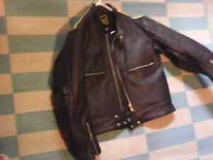 Geuuine leather fashion coat size 52 Kawartha Lakes Peterborough Area image 2