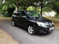 2008 Vauxhall Zafira 1.8i SRi 7 Seats,1 former keeper,fsh £2295