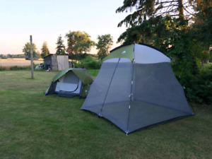 Ozark Trail Tent and Screen Tent