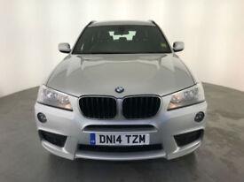 2014 BMW X3 XDRIVE 20D M SPORT AUTO DIESEL 1 OWNER SERVICE HISTORY FINANCE PX