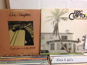 Pair of CLAPTON Records