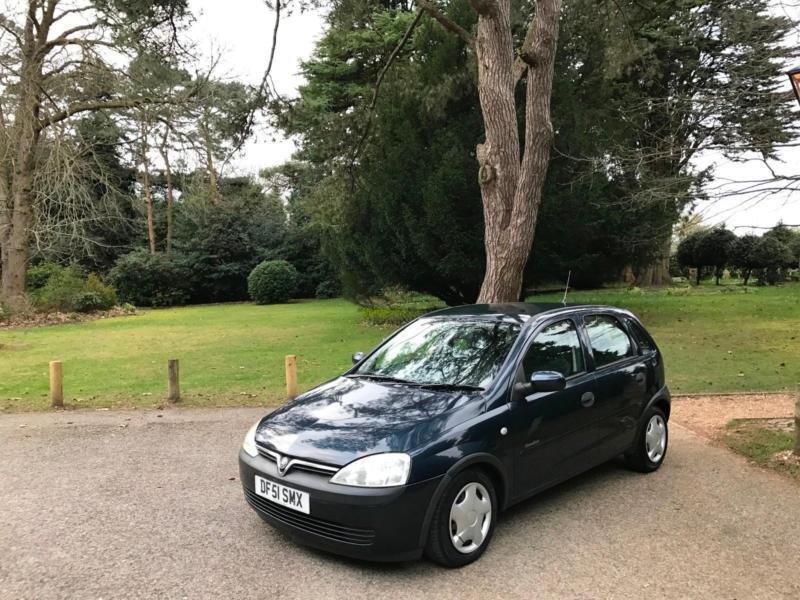 2002 Vauxhall Corsa 1.7Di 16v Comfort Turbo Diesel 5 Door Hatchback Blue