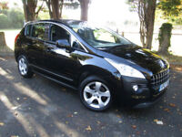 2012 Peugeot 3008 Crossover 1.6 e-HDi EGC SS Active**AUTOMATIC CARS**£30 TAX**