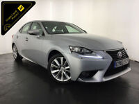 2013 63 LEXUS IS300H LUXURY HYBRID AUTO SERVICE HISTORY FINANCE PX WELCOME