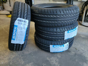 New 195/65R15, 185/65R15 all season tires, $270 for 4, tax in