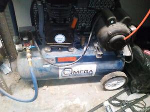 Omega TFA020 Pro-Series Air Compressor