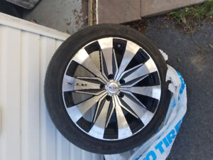 4 RTX MAGS/wheels with tires 235/45/18