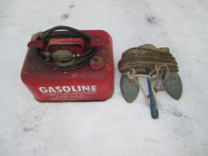 20lb boat anchor & 3 gallon fuel can