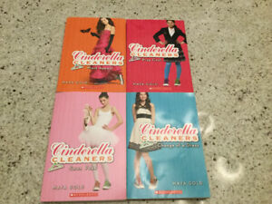 4 Cinderella Cleaners Chapter Books by Maya Gold
