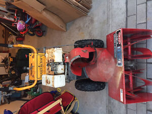 Mastercraft MTD 8/24 Snowblower