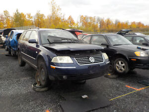 2002 Volkswagen Passat Now Available At Kenny U-Pull Cornwall Cornwall Ontario image 1