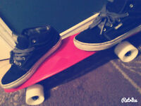 Penny board red