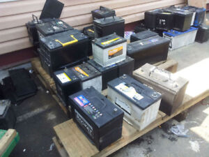 we sell good used car batteries and used tires size from 14 inch