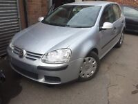 Vw mk5 golf 1.9 tdi breaking bxe bkc
