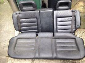 AUDI 100 REAR LEATHER SEATS