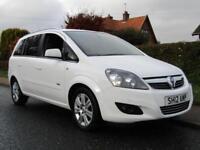 2012 Vauxhall Zafira 1.7 CDTi ecoFLEX DESIGN 5DR 7 SEATER TURBO DIESEL ** 46,...