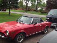 1977 FIAT SPIDER FOR SALE  (MUST SELL)