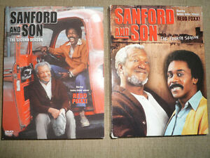CLASSIC TV DVDs - Sanford and Son -- Season 2 AND 4