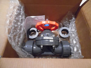 "Hayward 2"" PVC Valve Diaphragm Type Brand new in Box  Hayward D"