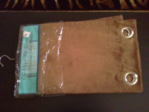 Brand new with tags brown window covering curtain London Ontario image 2