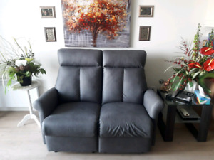 Causeuse et fauteuil inclinables