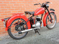 BSA BANTAM 1962 CLASSIC 125cc LEARNER LEGAL