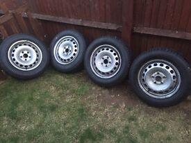 5x112 steel wheels