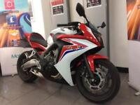 HONDA CBR650F 4380 MILES 65 PLATE DELIVERY ARRANGED HPI CLEAR