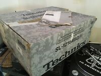 Technics sl1210m5g box and manual