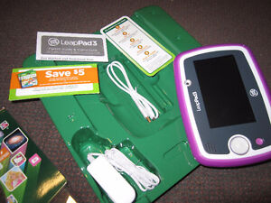 LeapFrog LeapPad3 Kids' Learning Tablet with Wi-Fi, Pink, $69.00