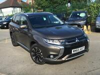 2015 Mitsubishi Outlander PHEV GX 4H PETROL/ELECTRIC brown Semi Auto
